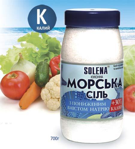Соль морская с калием
