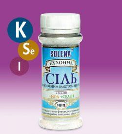 Соль кухонная с пониженным содержанием натрия +калий +селен +йодис концентрат