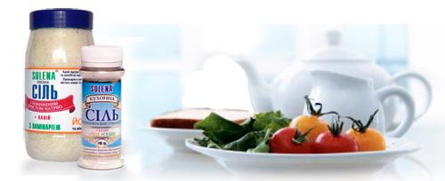 Соль для пользы здоровью SOLENA