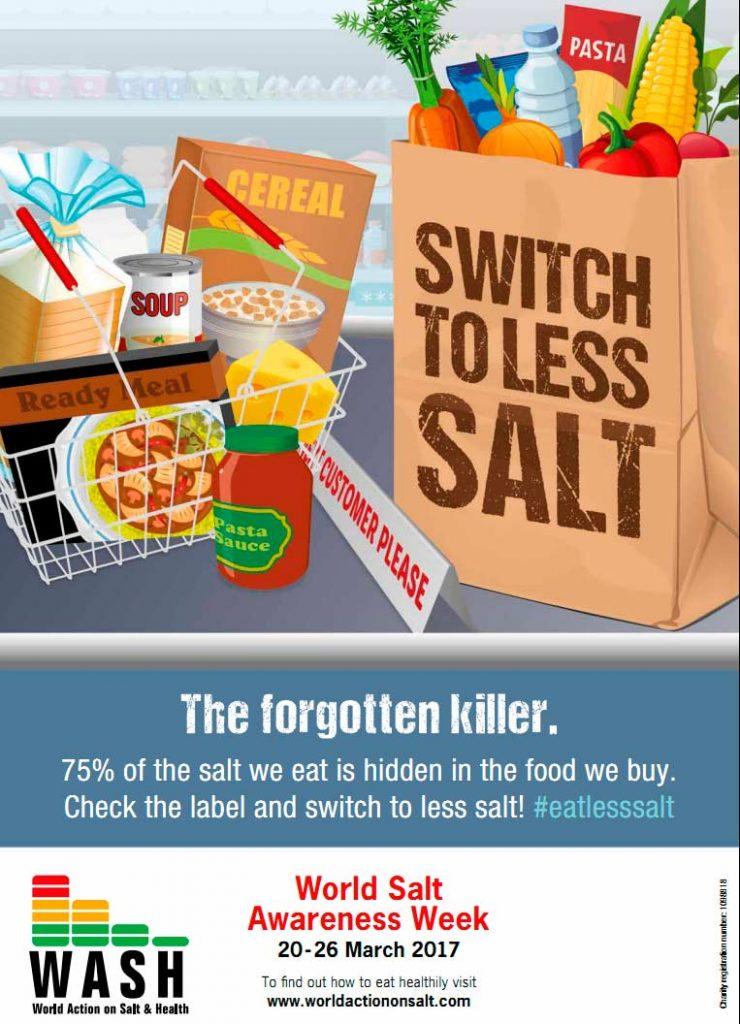 Неделя понимания потребления соли