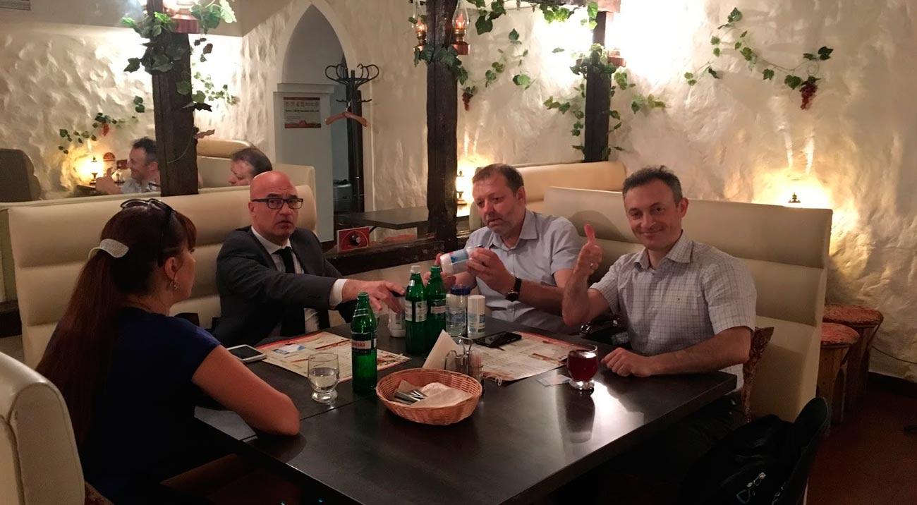 Соль SOLENA заинтересовала итальянского инвестора