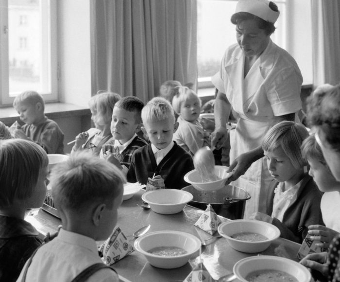 Финская школьная столовая