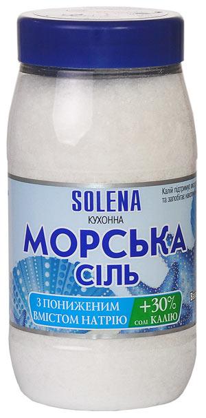 Соль гипонатриевая морская с калием