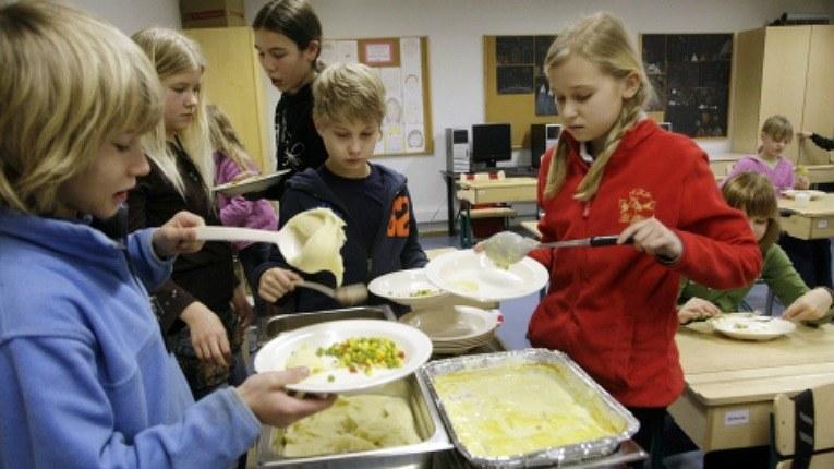 Школьное питание в Финляндии
