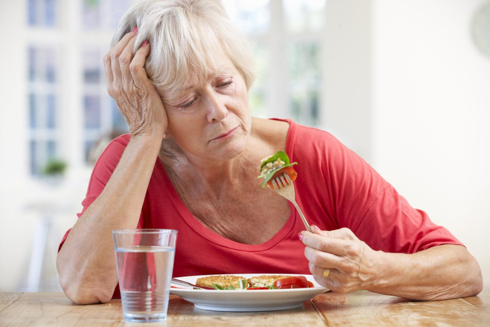 Дефицит калия в питании